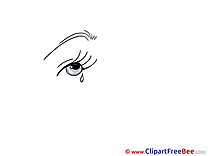 Tears Cliparts printable for free
