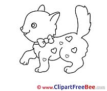 Kitten Clipart free Illustrations
