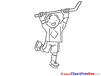 Hockey Boy Images download free Cliparts