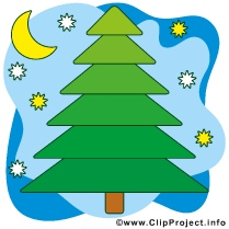 Christmas Tre Clip Art Image free