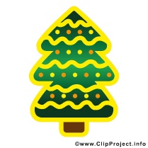 Christmas Tree Clipart gratis