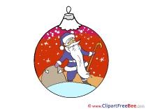 Free Illustration Santa Claus Christmas