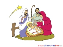 Magi Jesus Christmas Clip Art for free