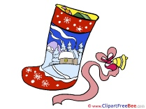 Sock Clipart Christmas free Images
