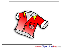 Men's Shirt free printable Cliparts and Images