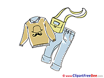 Pullover Jeans Handbag Pics free download Image
