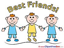 Children Boys printable Best Friends Images