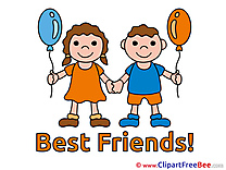 Kids Balloons Pics Best Friends free Cliparts