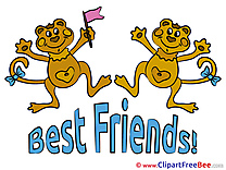 Monkeys free Cliparts Best Friends