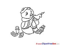 Bird Pills Get Well Soon free Images download