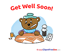 Medicine Bear Pills Clipart Get Well Soon free Images