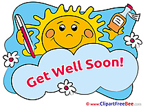 Sun download Get Well Soon Illustrations