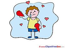 Boy Broken Heart Pics Goodbye free Image