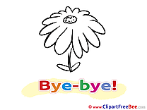 Flower Aster download Clipart Goodbye Cliparts