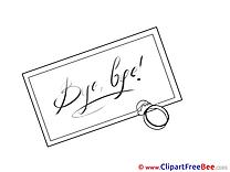 Ring Letter Goodbye download Illustration
