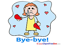 Woman Broken Heart download Goodbye Illustrations
