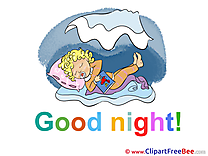 Baby free Illustration Good Night