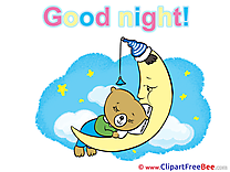 Teddy Bear Moon printable Illustrations Good Night