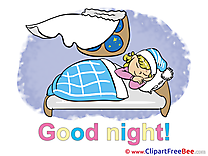 Window Bed Girl Clipart Good Night free Images