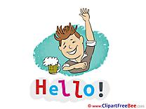 Beer Man Clipart Hello Illustrations