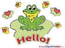 Frog Hearts Pics Hello free Image