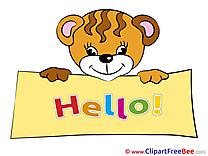 Tiger download Clipart Hello Cliparts