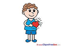 Free Cliparts Heart Love