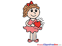 Heart Love Illustrations for free