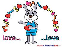 Rabbit download Clipart Love Cliparts
