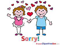 Forgive me Clipart Sorry Illustrations