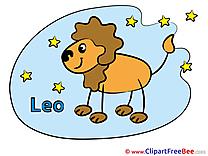 Leo download Clipart Zodiac Cliparts