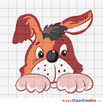 Dog free Cross Stitches download