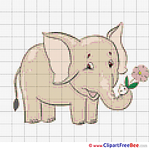 Elephant Patterns download Cross Stitches