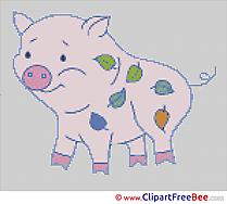 Pig Cross Stitch download free