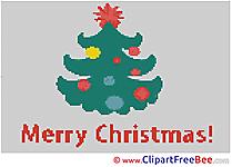 Christmas Tree free Cross Stitches