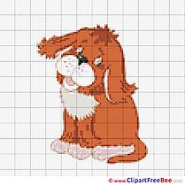 Dog Patterns download Cross Stitches