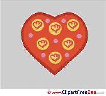 Heart Cross Stitches download free