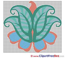 Design Flower download Cross Stitch