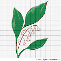 Embroidery Flower Cross Stitches  download free