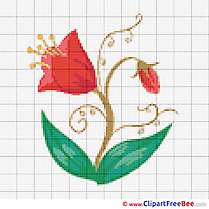 Embroidery Flower Patterns download Cross Stitches
