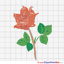 Rose Patterns download Cross Stitches