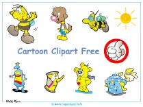 Cartoon Illustrations Cliparts free