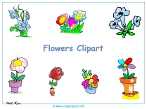Clipart Flowers Desktop Background - Free Desktop Backgrounds download