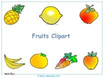 Fruits Clipart Desktop Background - Free Desktop Backgrounds download