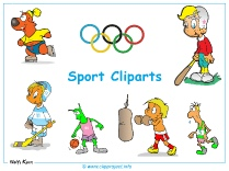 Sports Clipart Images Desktop Background - Free Desktop Backgrounds