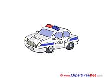Police Car free Illustration download