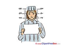 Prisoner Boy Clipart free Illustrations