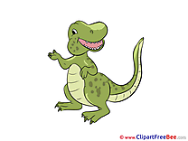 Dynosaur Cliparts printable for free