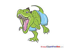 Tyrannosaurus free printable Cliparts and Images