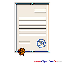 Certificate Cliparts printable for free